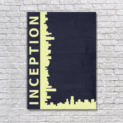 Albitablo Poster Love Inception 3 Kanvas Tablo