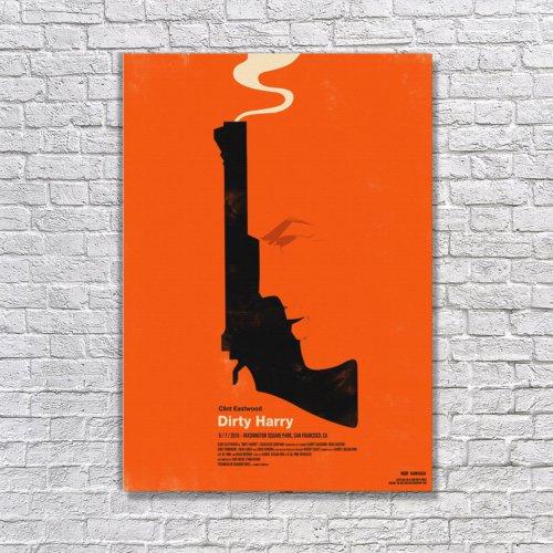 Albitablo Poster Love Dirty Harry Kanvas Tablo