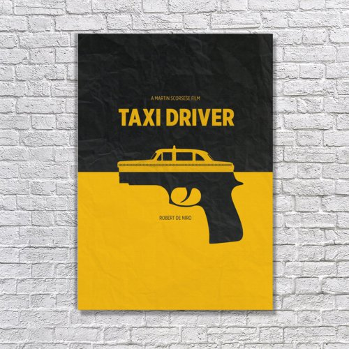 Albitablo Poster Love Ta x i Driver Kanvas Tablo