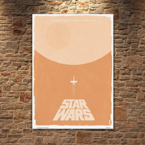 Albitablo Poster Love Star Wars Kanvas Tablo