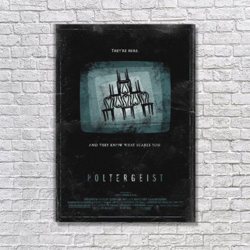 Albitablo Poster Love Poltergeist Kanvas Tablo