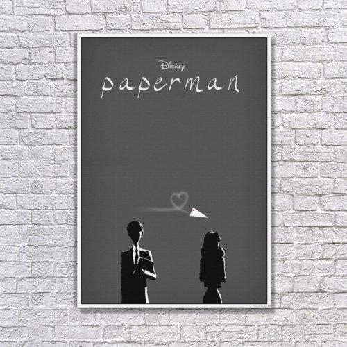 Albitablo Poster Love Paperman Kanvas Tablo