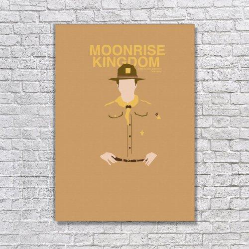 Albitablo Poster Love Moonrise Kingdom Kanvas Tablo