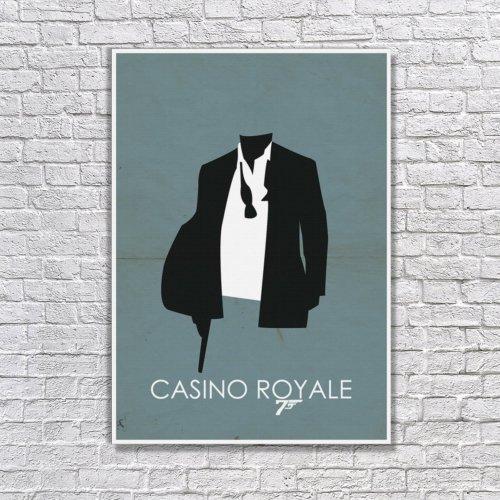 Albitablo Poster Love Casino Royale Kanvas Tablo