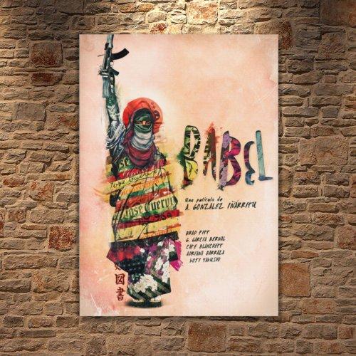 Albitablo Poster Love Babel Kanvas Tablo