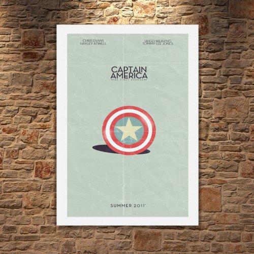 Albitablo Poster Love Avengers 1 Kanvas Tablo