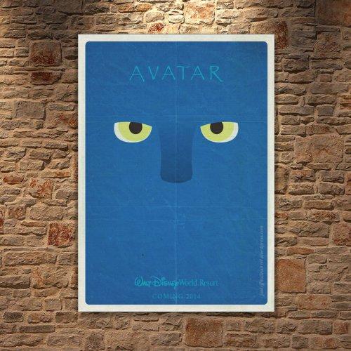 Albitablo Poster Love Avatar Kanvas Tablo