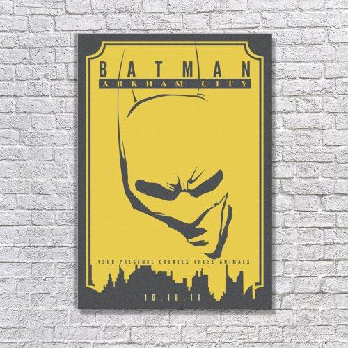 Albitablo Poster Love Arkham City Kanvas Tablo