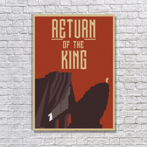 Albitablo Poster Lord of The Rings 1 Kanvas Tablo