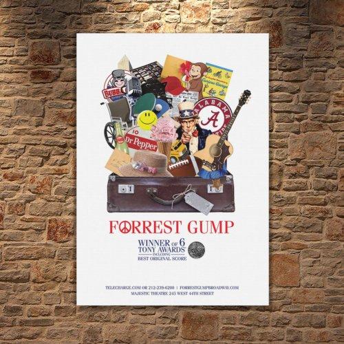 Albitablo Poster Forest Gump_ Kanvas Tablo