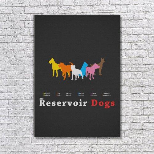 Albitablo Poster Reservoir Dogs Kanvas Tablo