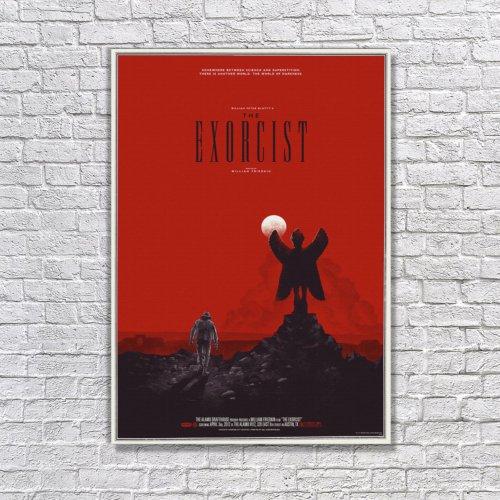 Albitablo Poster The E x orcist Kanvas Tablo