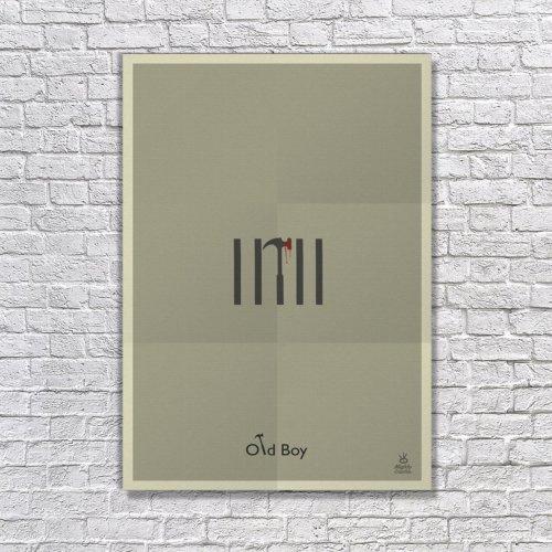 Albitablo Poster Oldboy Kanvas Tablo
