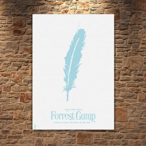 Albitablo Poster Forest gump film Kanvas Tablo