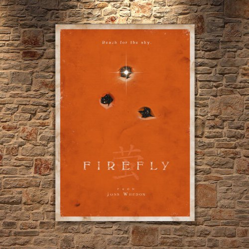 Albitablo Poster Firefly Kanvas Tablo