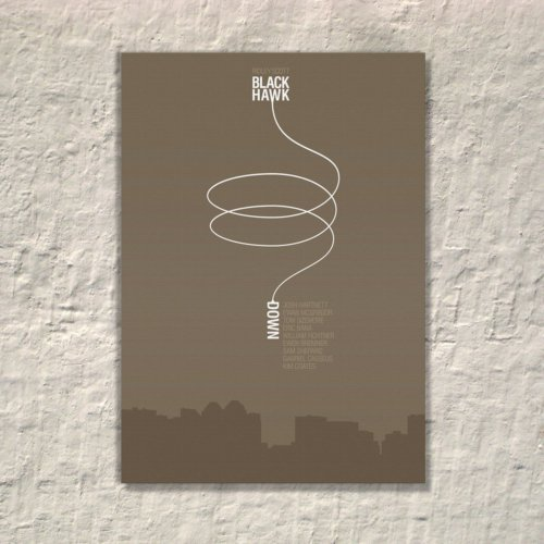 Albitablo Poster Black Hawk Kanvas Tablo
