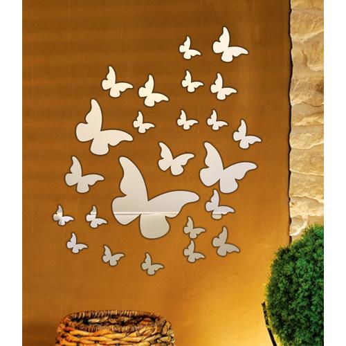 M3 Decorium Uçuşan Kelebekler Dekoratif Ayna