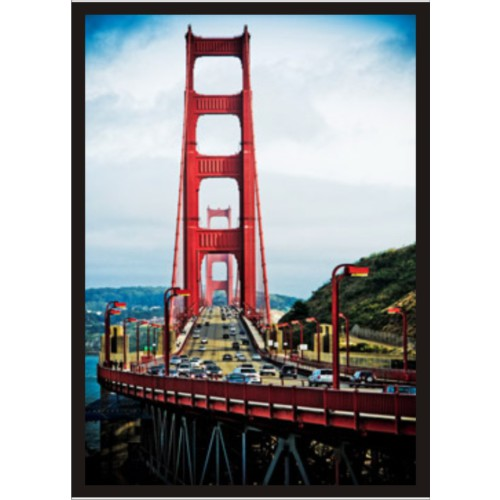M3 Decorium Golden Gate Poster