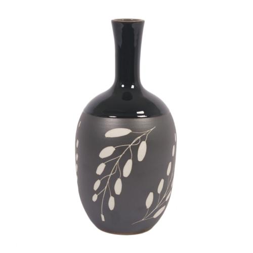 I Love Home Vazo Siyah Uzun