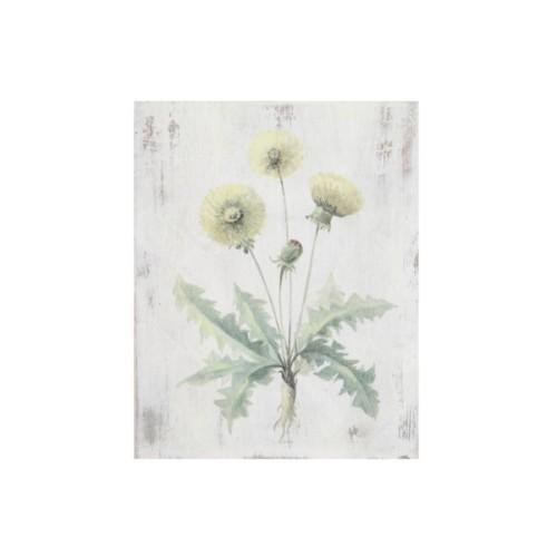 Artmosfer Dekoratif Ahşap Tablo Sarı Çiçekler-2