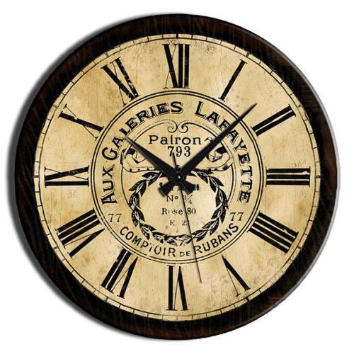 Frank Ray 60 cm Roma Rakamlı Mdf Duvar Saati
