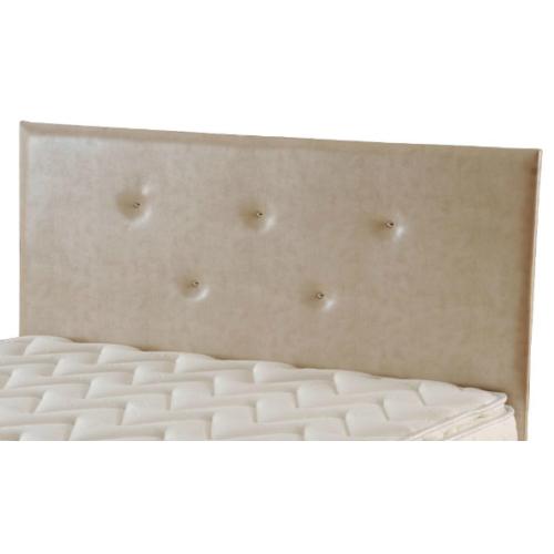 Zinde Yatak Manolya Düz Deri Yatak Başı - 180