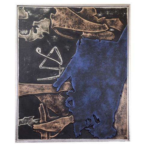 Arte El Yapımı Kabartmalı Deri Tablo 35