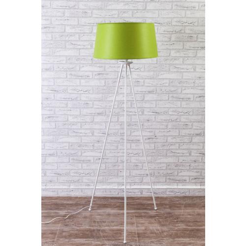 Limbo Home Metal Tripod Lambader - Yeşil Şapka