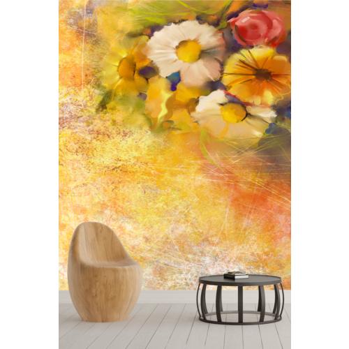 Pidekorasyon Çiçek Bahçesi Duvar Kağıdı - 9091