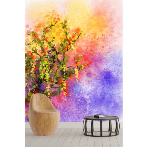 Pidekorasyon Çiçek Bahçesi Duvar Kağıdı - 9112