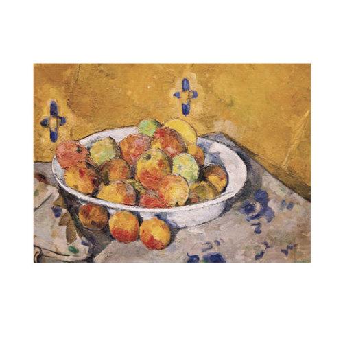 ARTİKEL Still Life with Plate of Apples 50x70 cm KS-1177