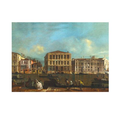 ARTİKEL Francesco Guardi - Venice - The Grand Canal with Palazzo Pesaro 50x70 cm KS-1480