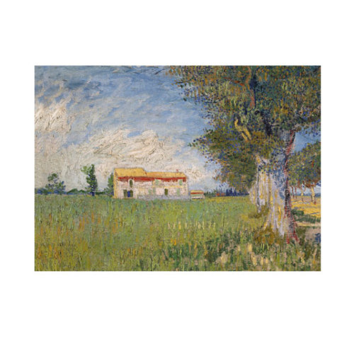 ARTİKEL Farmhouse in a Wheat Field 50x70 cm KS-1028