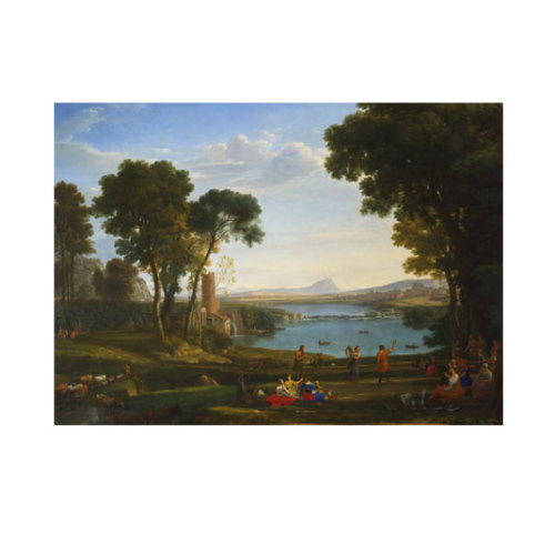 ARTİKEL Landscape with the Marriage of Isaac and Rebecca 50x70 cm KS-1429