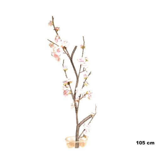 Yedifil Küt Bahar Dalı Pembe Yapay Çiçek