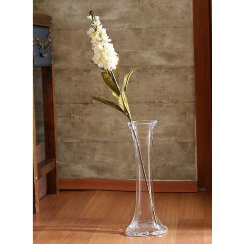 Yedifil Kısa Püskül Beyaz Yapay Çiçek