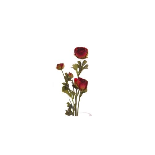 Yedifil Kapalı Gün Döndü Kırmızı Yapay Çiçek