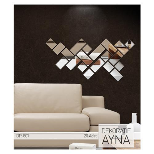 ARTİKEL Firkantet Ayna Sticker 20 Parça DP-807
