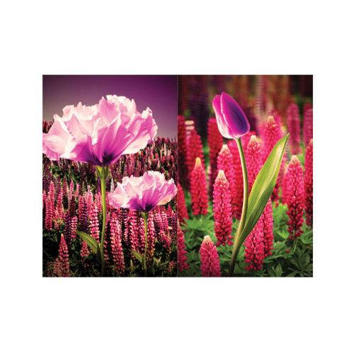 ARTİKEL Romantic Purple 2 Parça Kanvas Tablo 80x100 cm KS-360