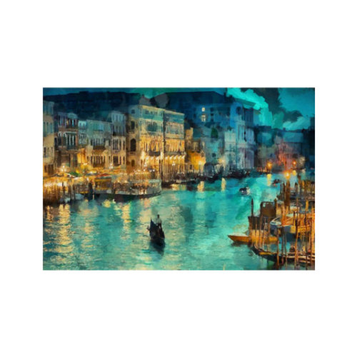 ARTİKEL Venice At Night 2 Parça Kanvas Tablo 60x40 cm KS-907