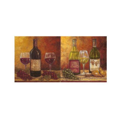 ARTİKEL Wine 2 Parça Kanvas Tablo 80x40 cm KS-371