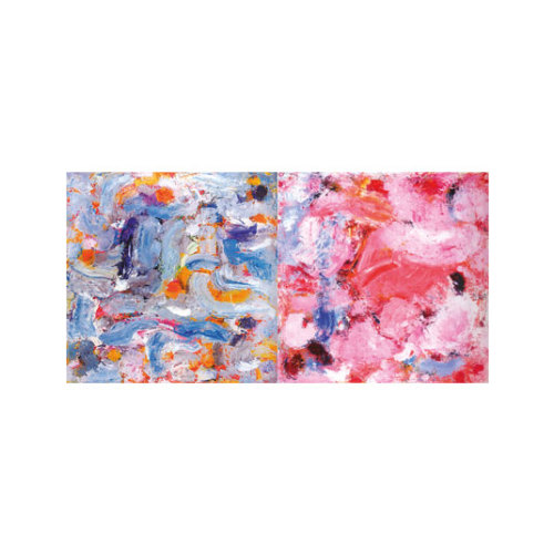 ARTİKEL Baby Colors 2 Parça Kanvas Tablo 80x40 cm KS-715