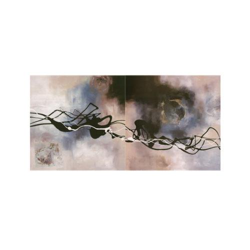 ARTİKEL Mad 2 Parça Kanvas Tablo 80x40 cm KS-368