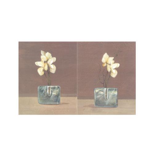 ARTİKEL Cream Orchids 2 Parça Kanvas Tablo 60x40 cm KS-370