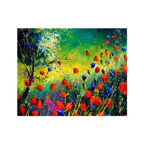 ARTİKEL Wet Flowers 2 Parça Kanvas Tablo 80x100 cm KS-326