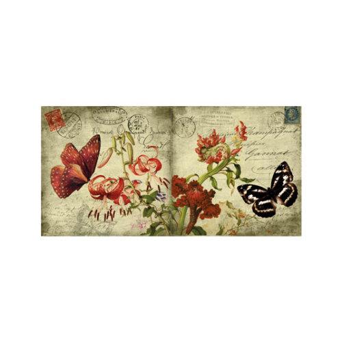 ARTİKEL Lonely Butterflies 2 Parça Kanvas Tablo 80x40 cm KS-644