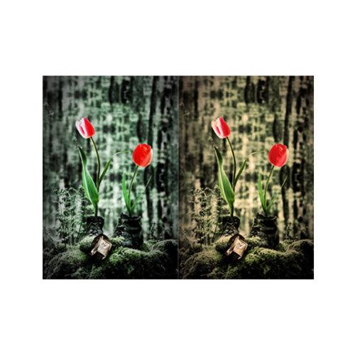 ARTİKEL Two Flowers 2 Parça Kanvas Tablo 80x100 cm KS-362