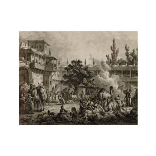 ARTİKEL Historical Scene 2 Parça Kanvas Tablo 80x100 cm KS-975