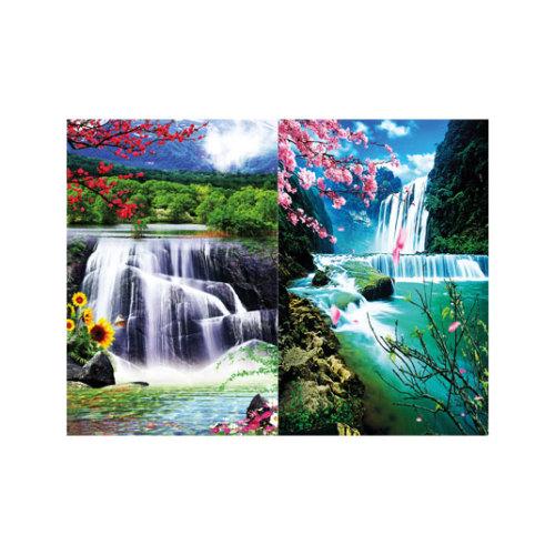 ARTİKEL Really Heaven 2 Parça Kanvas Tablo 80x100 cm KS-585