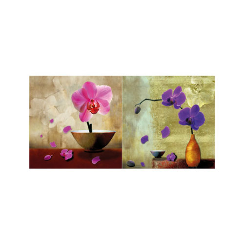 ARTİKEL Perfect Tense 2 Parça Kanvas Tablo 80x40 cm KS-557